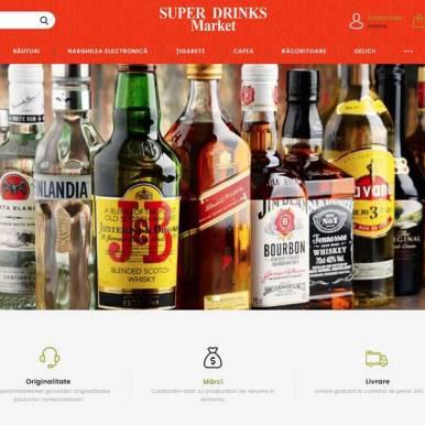 www.superdrinksmarket.ro