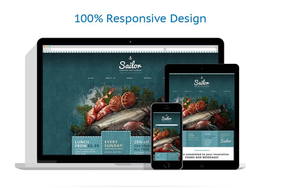 Sablon responsive de   Cafenele & Restaurante   ID: 10