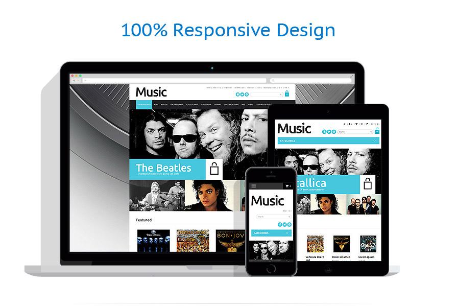 responsive template | Music | ID: 1017