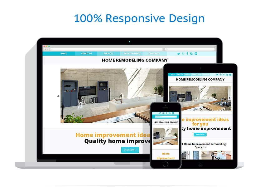 Sablon responsive de   Design Interior & Mobila   ID: 1052