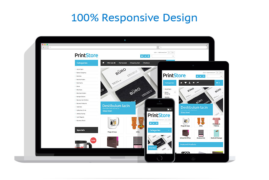 responsive template | Art & Photography | ID: 1061