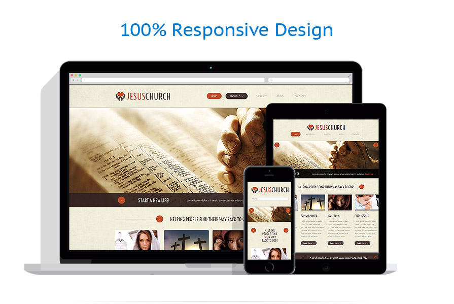 responsive template | Religious | ID: 1088