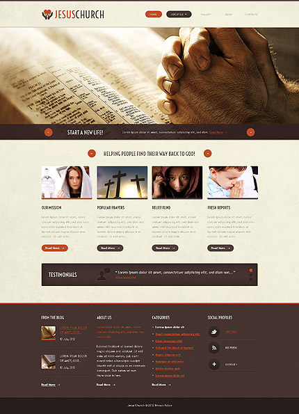 template | Religious | ID: 1088