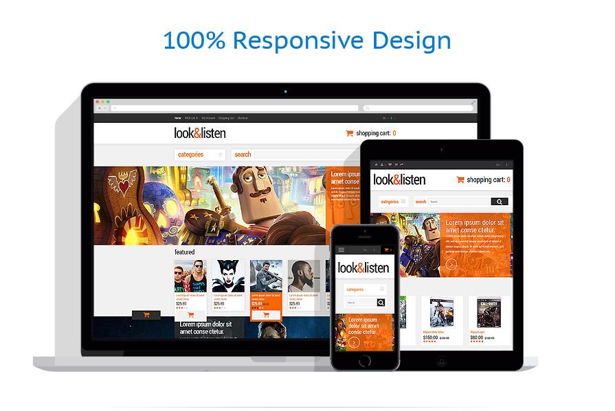 responsive template | Media | ID: 1140