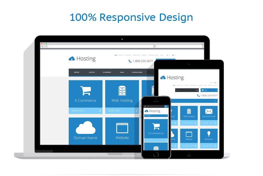 responsive template | Hosting | ID: 115