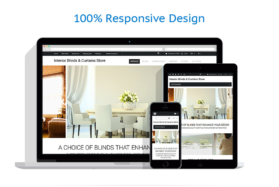 Sablon responsive de | Design Interior & Mobila | ID: 1150