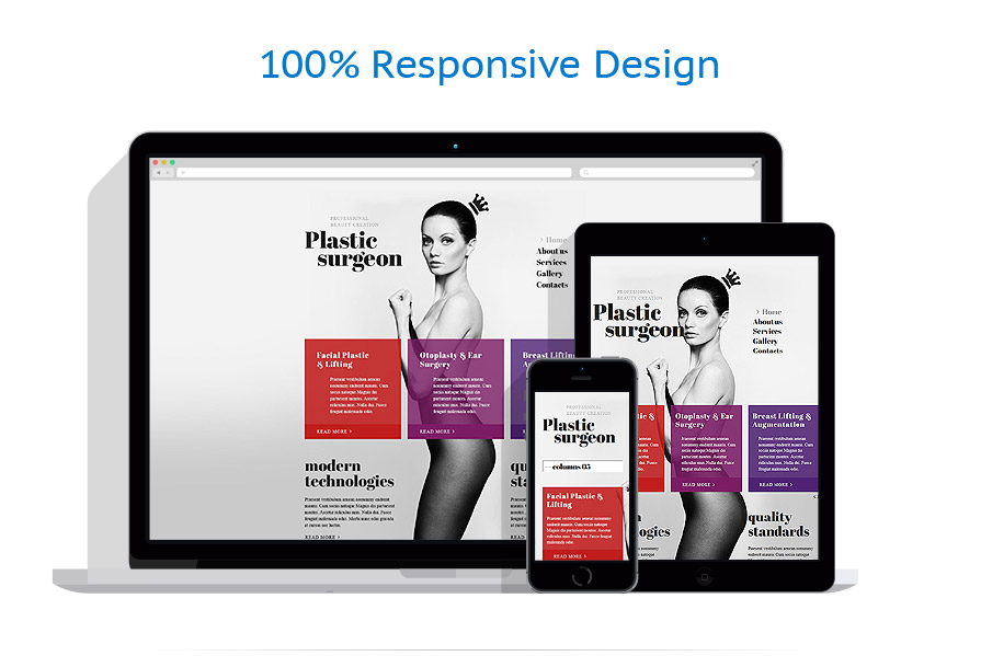 Sabloane responsive de website | Medical