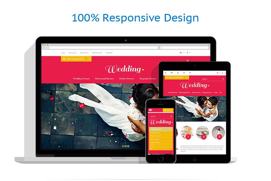 responsive template | Wedding | ID: 1183