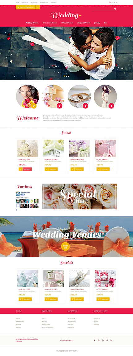 template | Wedding