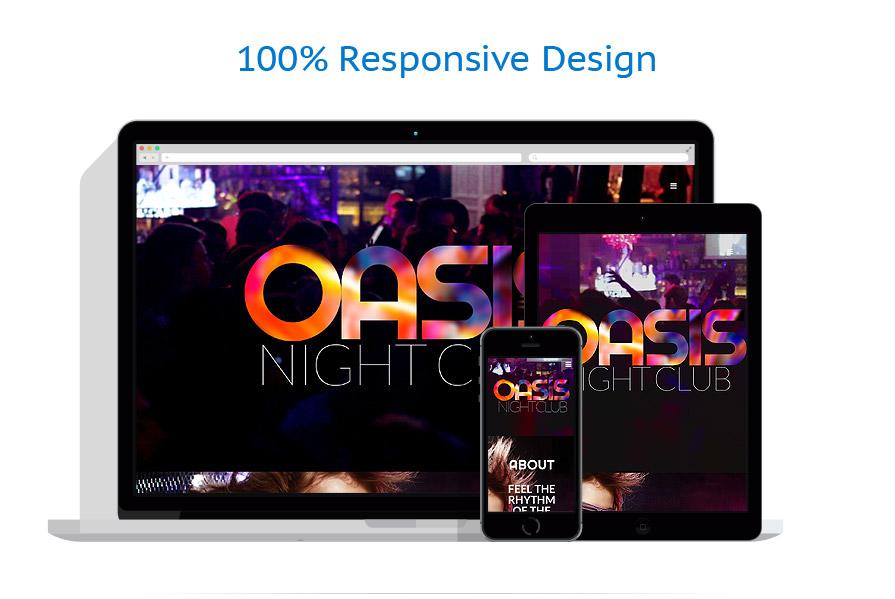 responsive template | Night Club | ID: 1190