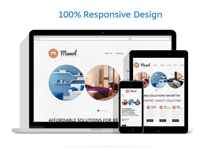 Sablon responsive de | Design Interior & Mobila | ID: 1220
