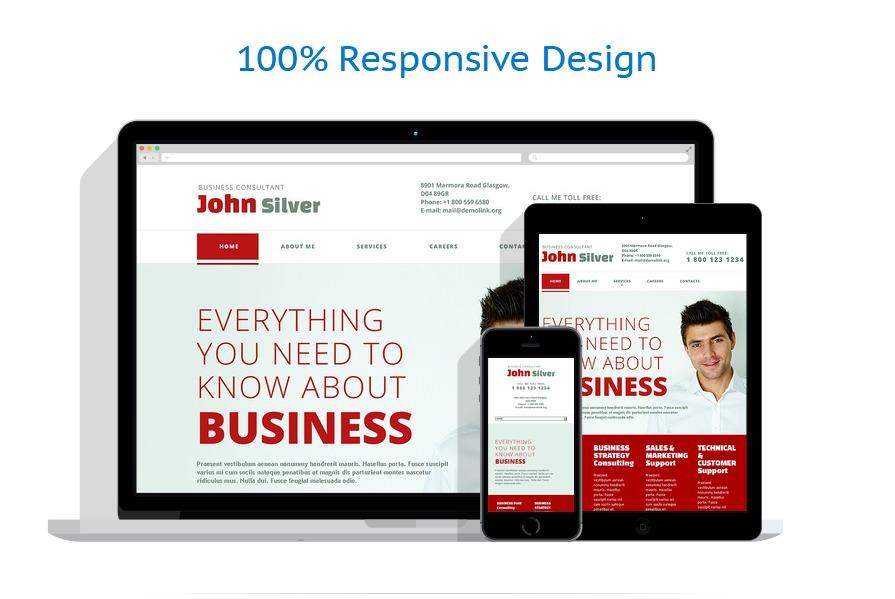 Sablon responsive de | Business | ID: 1228