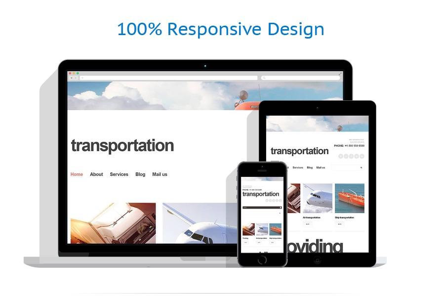 Sablon responsive de | Transport | ID: 1249