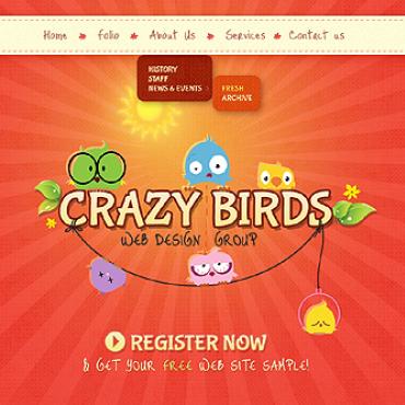 Sablon de | Web design | ID: 1277