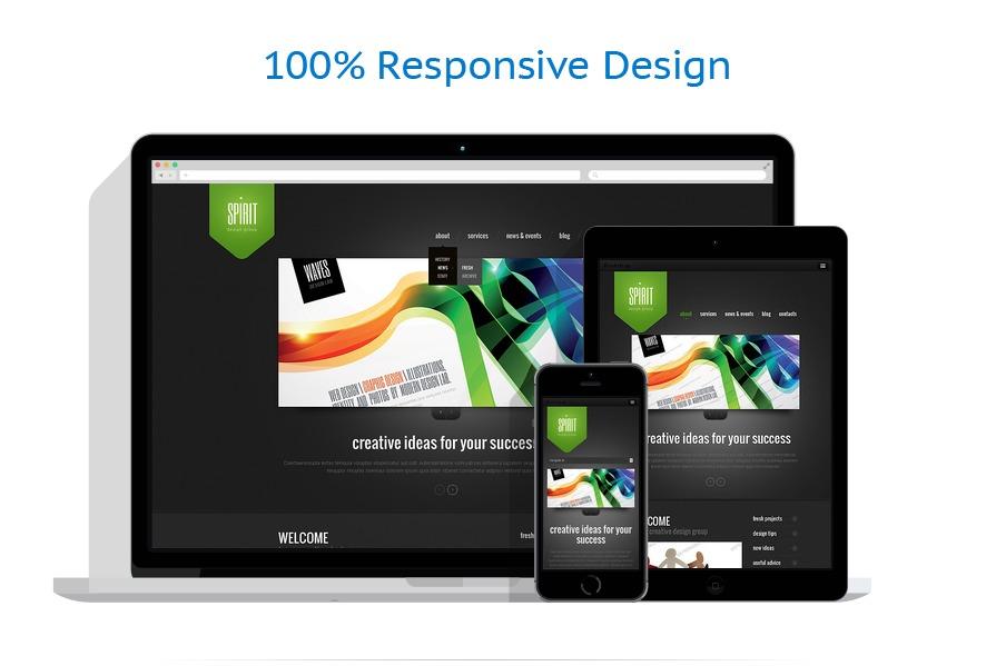 Sablon responsive de | Web design | ID: 1309