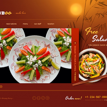 template | Cafe and Restaurant | ID: 1312