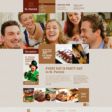 template | Brewery Templates | ID: 1329