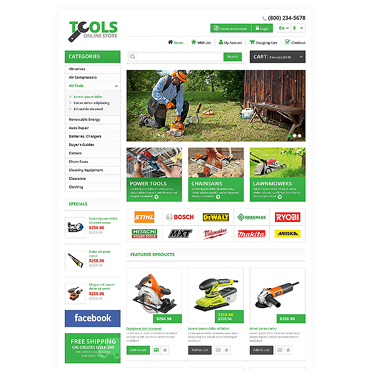 template   Tools & Equipment   ID: 1348