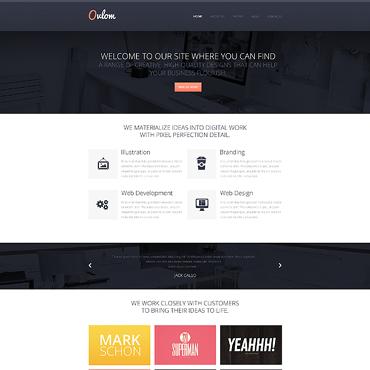 Sablon de | Web design | ID: 1351