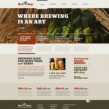 template | Brewery Templates | ID: 1364