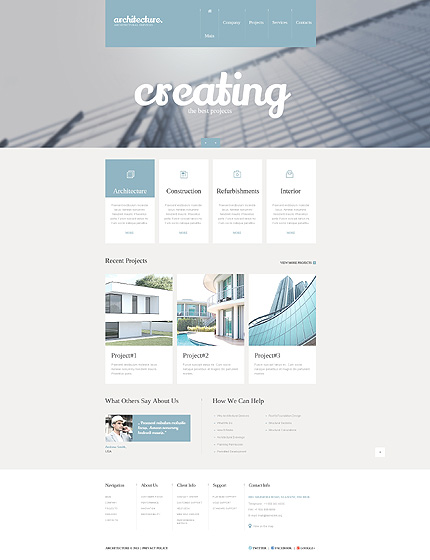 Sablon de | Arhitectura | ID: 1377