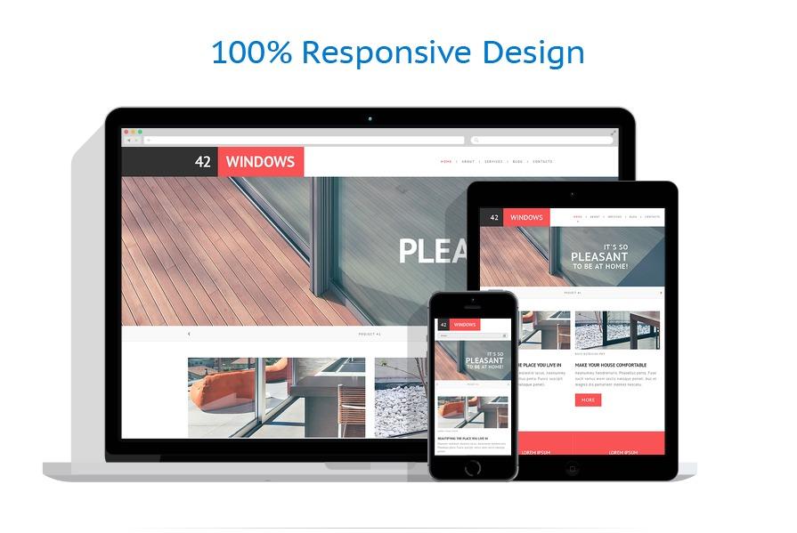 Sablon responsive de | Design Interior & Mobila | ID: 1386