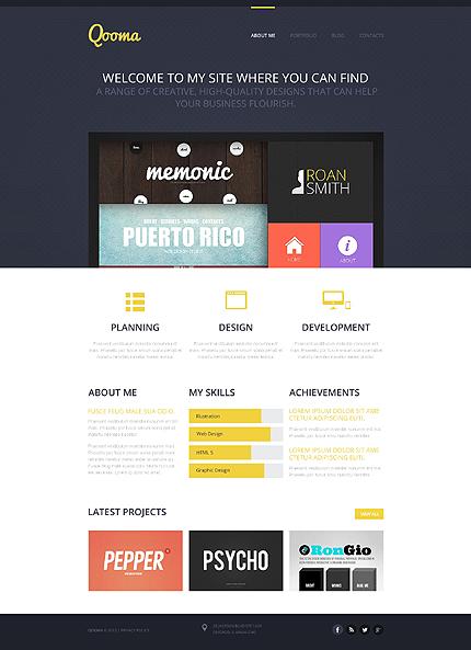 Sablon de | Web design | ID: 1394
