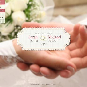 template | Wedding | ID: 1396