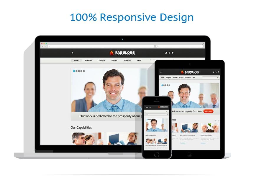 Sablon responsive de | Business | ID: 1429