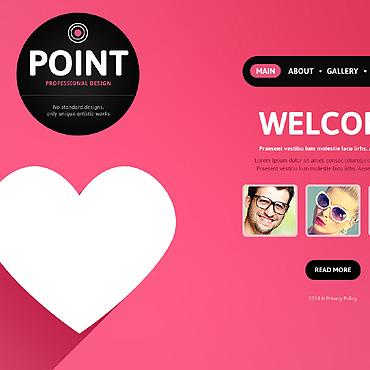 Sablon de | Web design | ID: 144