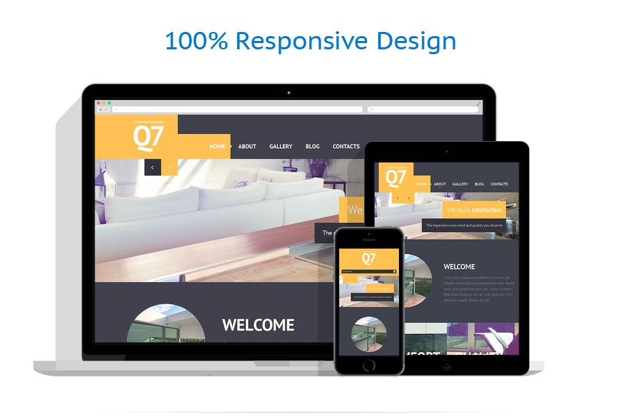 Sablon responsive de | Design Interior & Mobila | ID: 1452