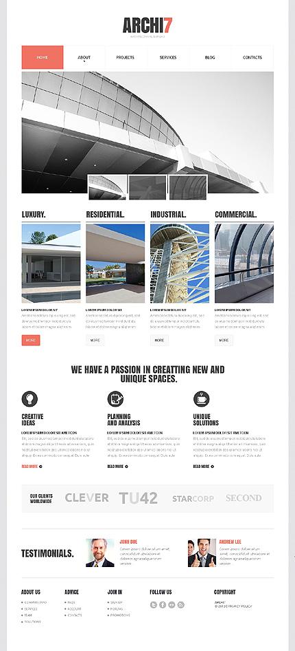 Sablon de | Arhitectura | ID: 1465