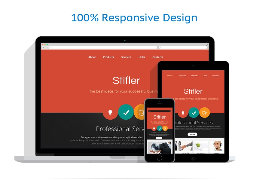 Sabloane responsive de website | Business