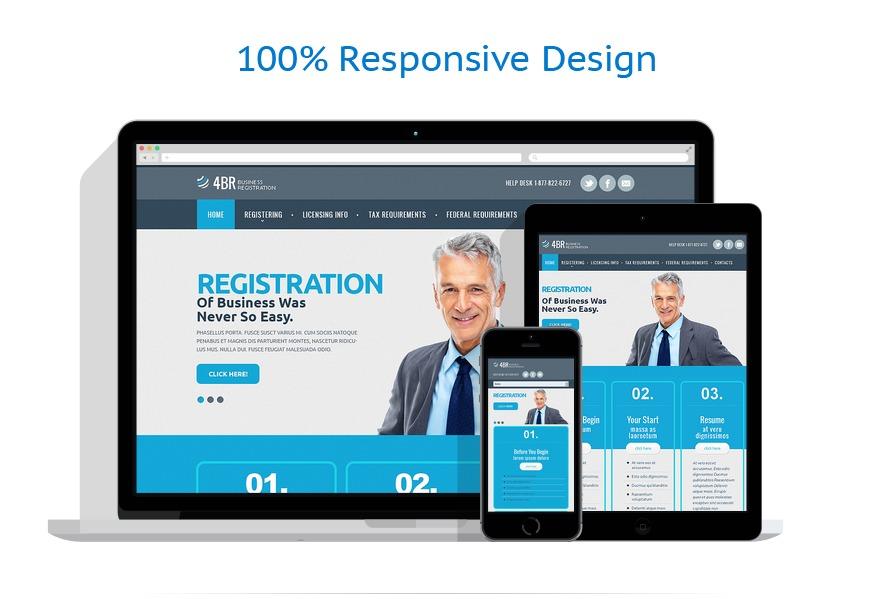 Sablon responsive de | Business | ID: 1492