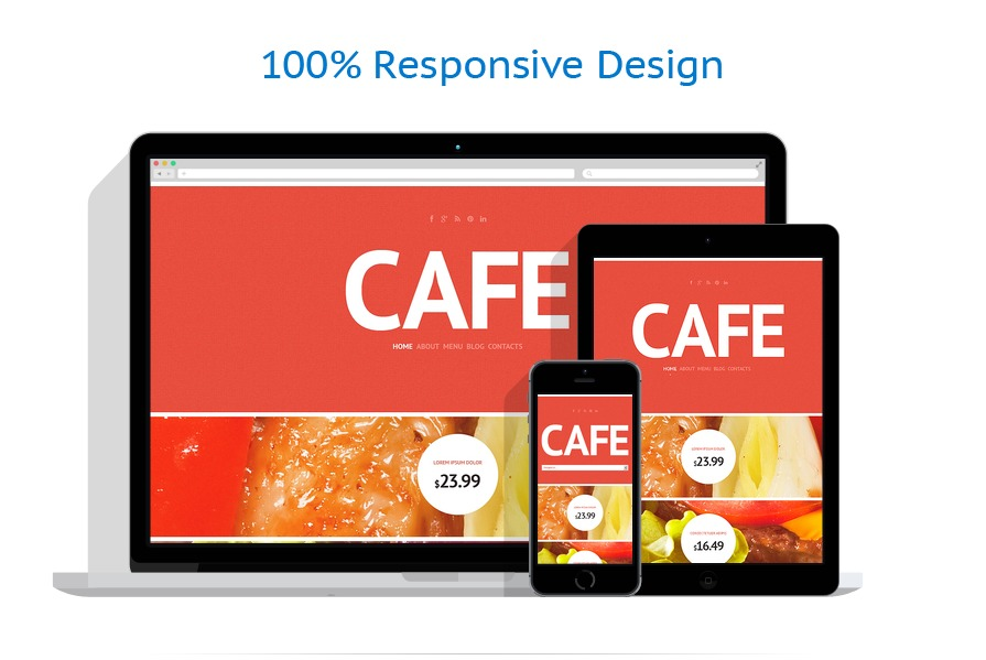 Sablon responsive de   Cafenele & Restaurante   ID: 1540