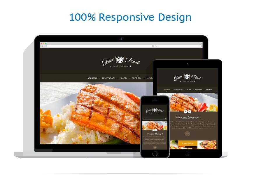 Sablon responsive de | Cafenele & Restaurante | ID: 1549
