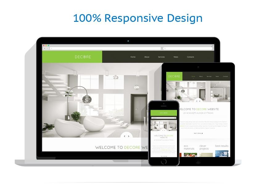 Sablon responsive de | Design Interior & Mobila | ID: 1569
