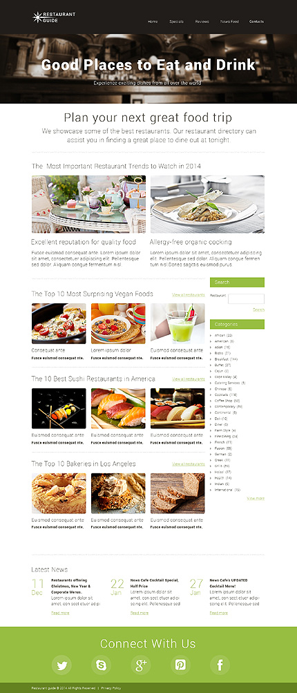 Sablon de | Cafenele & Restaurante | ID: 159
