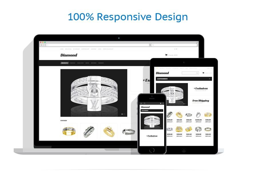 responsive template | Jewelry | ID: 1720