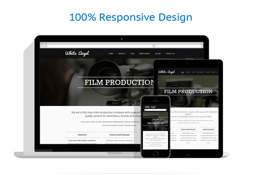 Sabloane responsive de website | Media