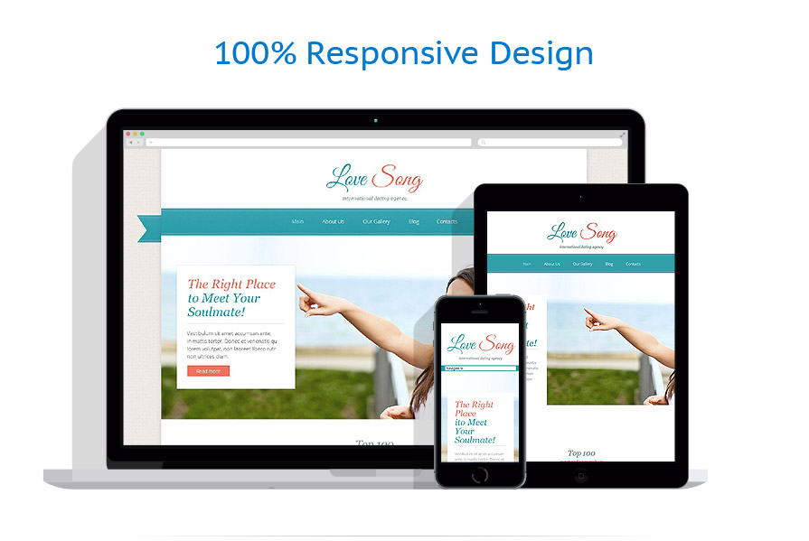 responsive template   Dating   ID: 1900