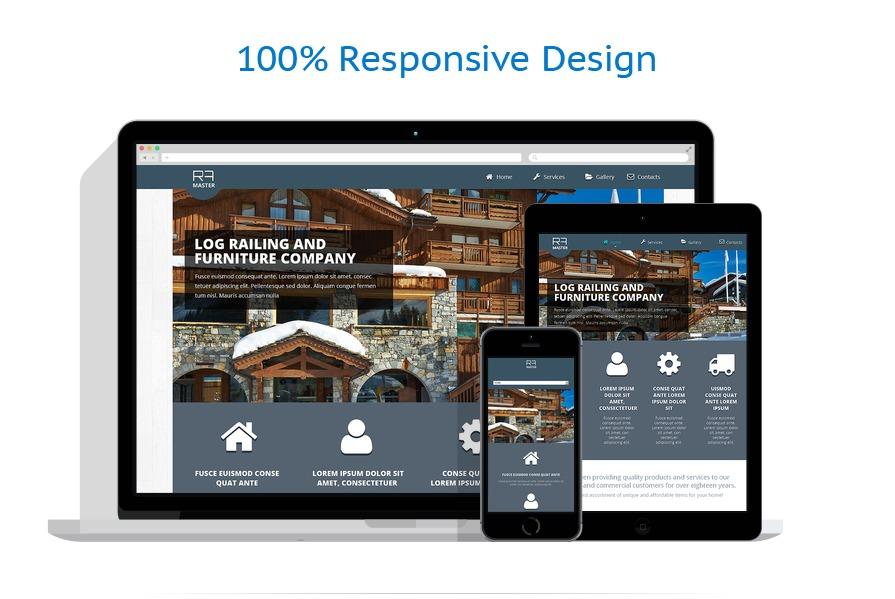 Sablon responsive de   Design Interior & Mobila   ID: 199