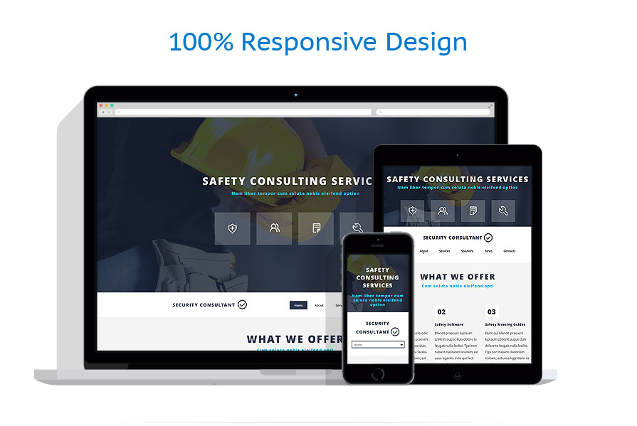 responsive template | Security | ID: 1996