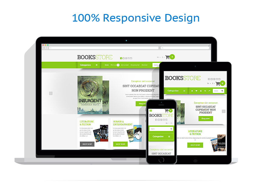 responsive template | Books | ID: 2034