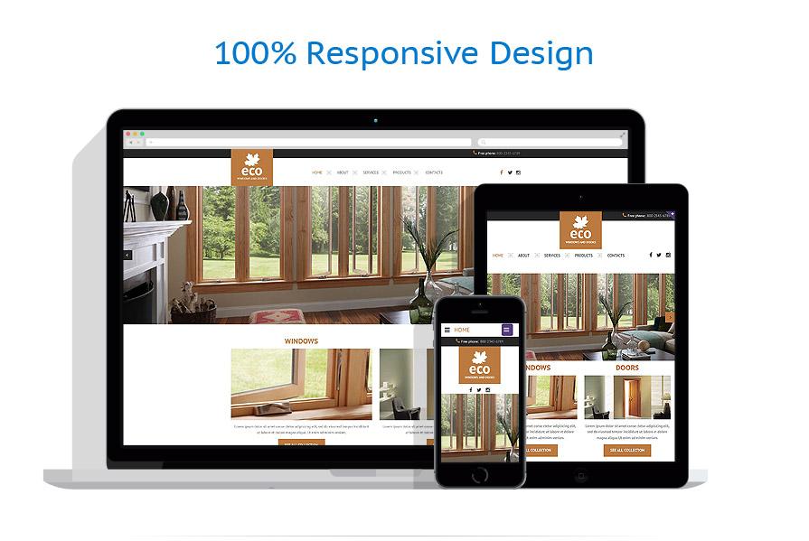 Sablon responsive de   Design Interior & Mobila   ID: 2040