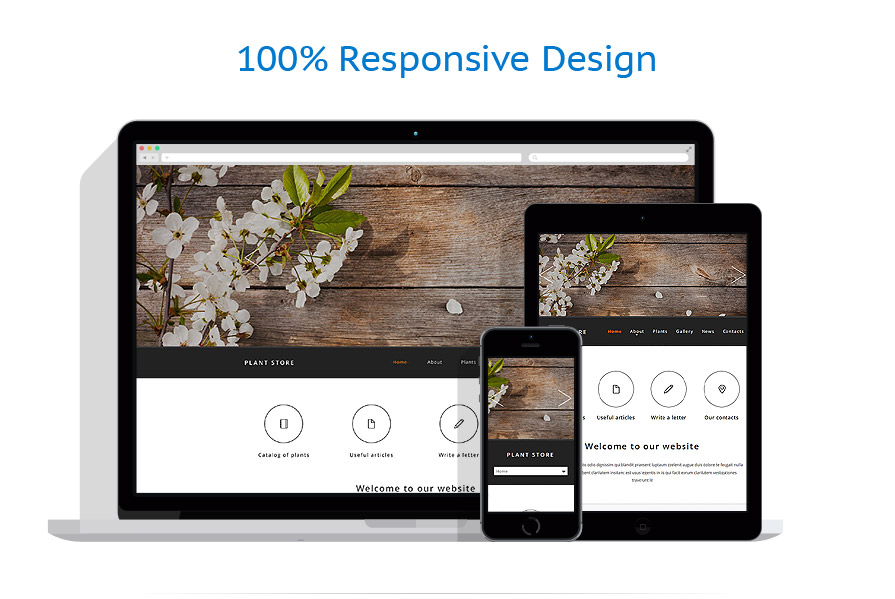 Sablon responsive de | Design Exterior | ID: 2048