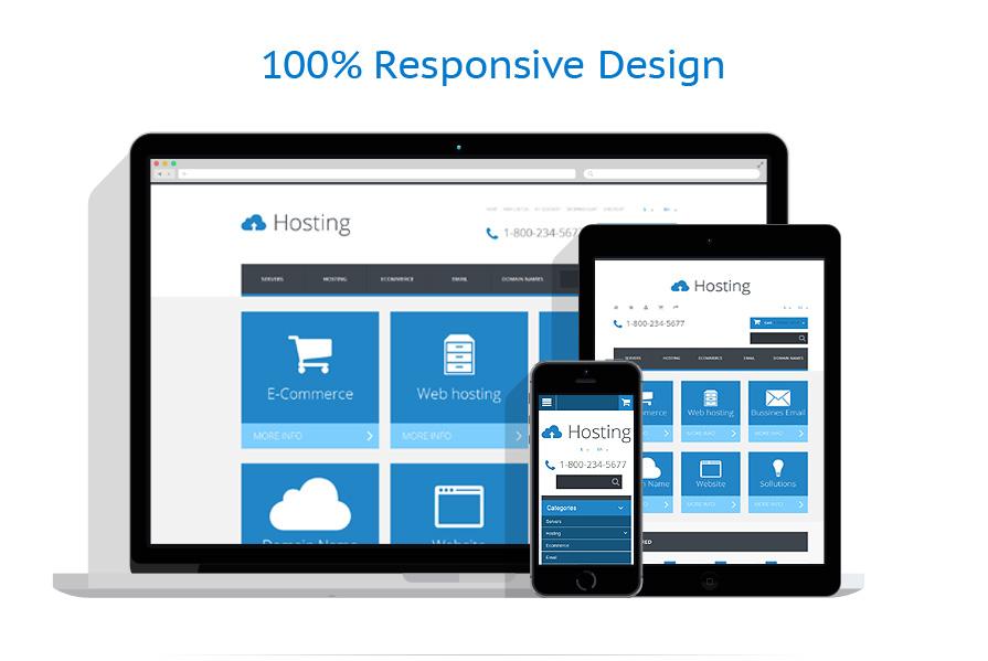 responsive template | Hosting | ID: 2057