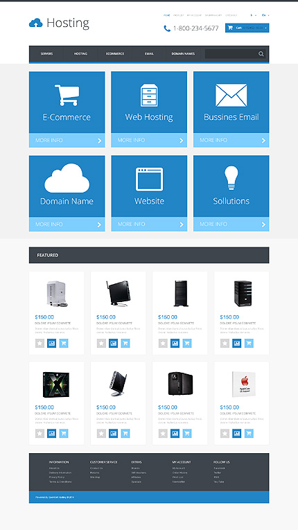 template | Hosting