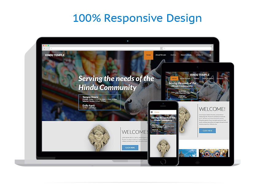responsive template | Religious | ID: 2058