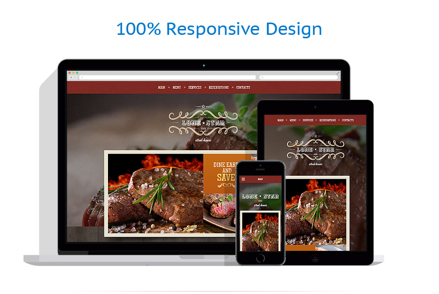 Sablon responsive de | Cafenele & Restaurante | ID: 2070